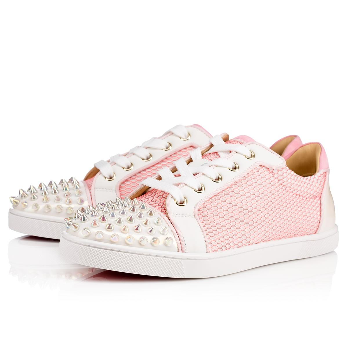 shop offer cheap online Christian Louboutin Studded Mesh Sneakers store online free shipping comfortable largest supplier sale online cheap sale new styles 4w1nlu