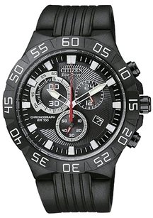Citizen Citizen Eco-drive Chronograph Rubber Mens Watch At2095-07e