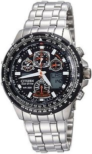 Citizen Citizen Eco-drive Skyhawk Atomic Mens Watch Jy0000-53e