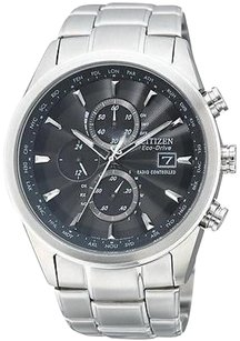 Citizen Citizen Eco-drive World Chronograph At Radio Mens Watch At8010-58e