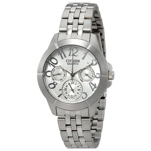 Citizen Silver Dial Multi-Function Stainless Steel Ladies Watch