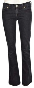 Citizens of Humanity Ingrid Womens Blue Dark Wash Pants Cotton Flare Leg Jeans