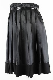 Clips Womens Pleated Skirt black
