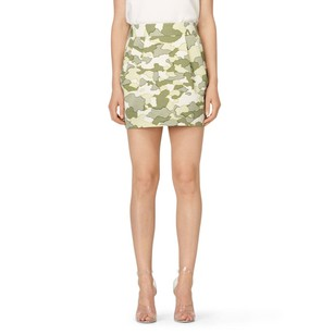 Club Monaco Joelle Tan Skirt cream khaki