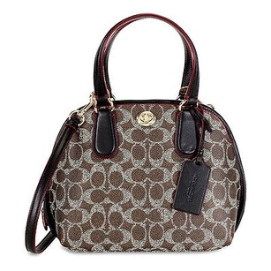 Coach Signature Mini Prince Tote