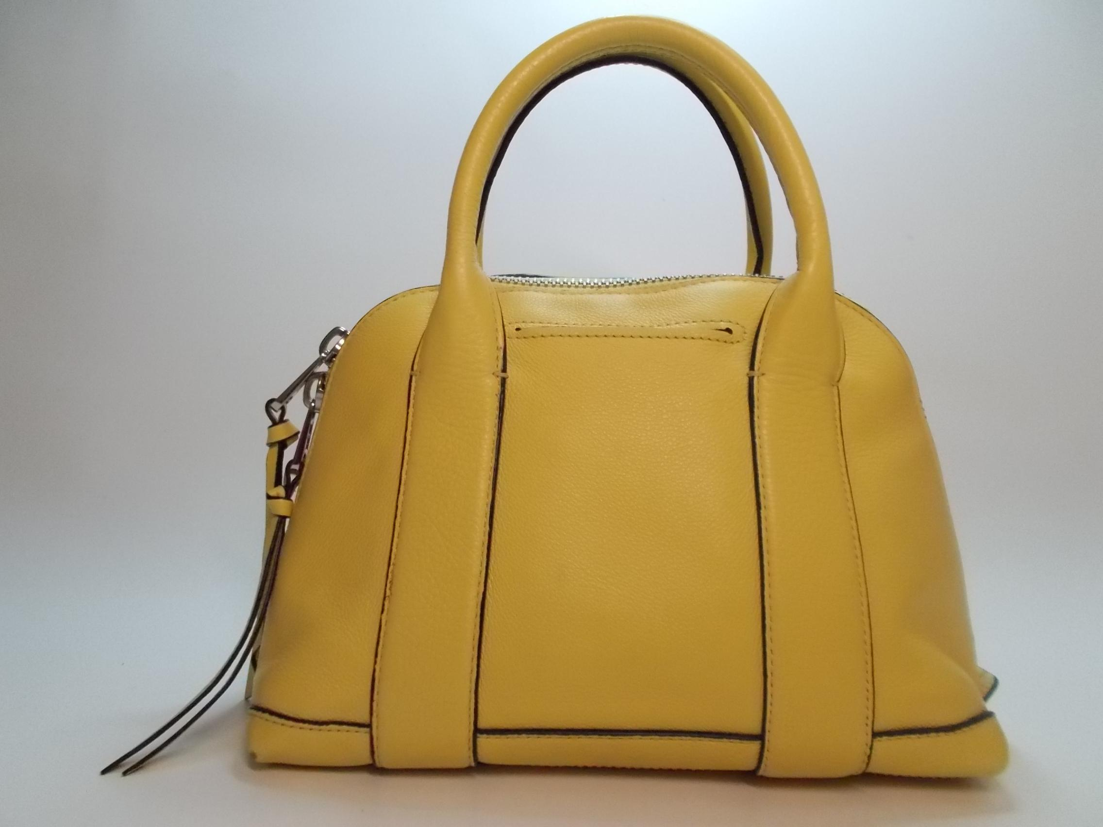 6fce336eb845 ... norway coach bleecker mini preston pale yellow leather cross body bag  tradesy 7013a 1f362