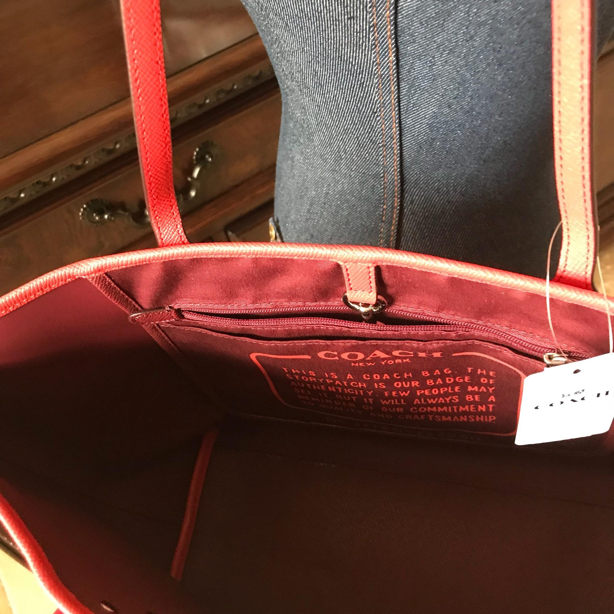 Closeout Coach Tote Red Ombre A17b4 53ca7 Swagger Wristlet In Pebble Leather Watermelon Where To Buy Bnwt Ombr F22560 And Wallet F22808 Shoulder Bag Tradesy 26777 2d1d0