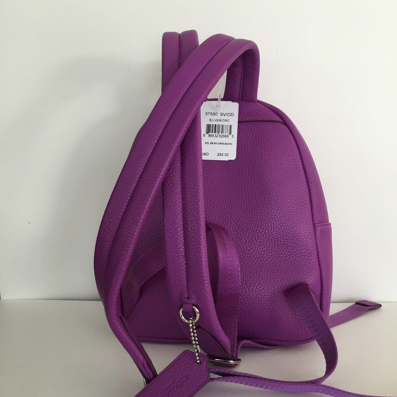 Coach Campus Pebble Backpack