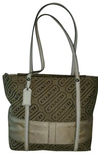 Coach Canvas Shoulder Bag