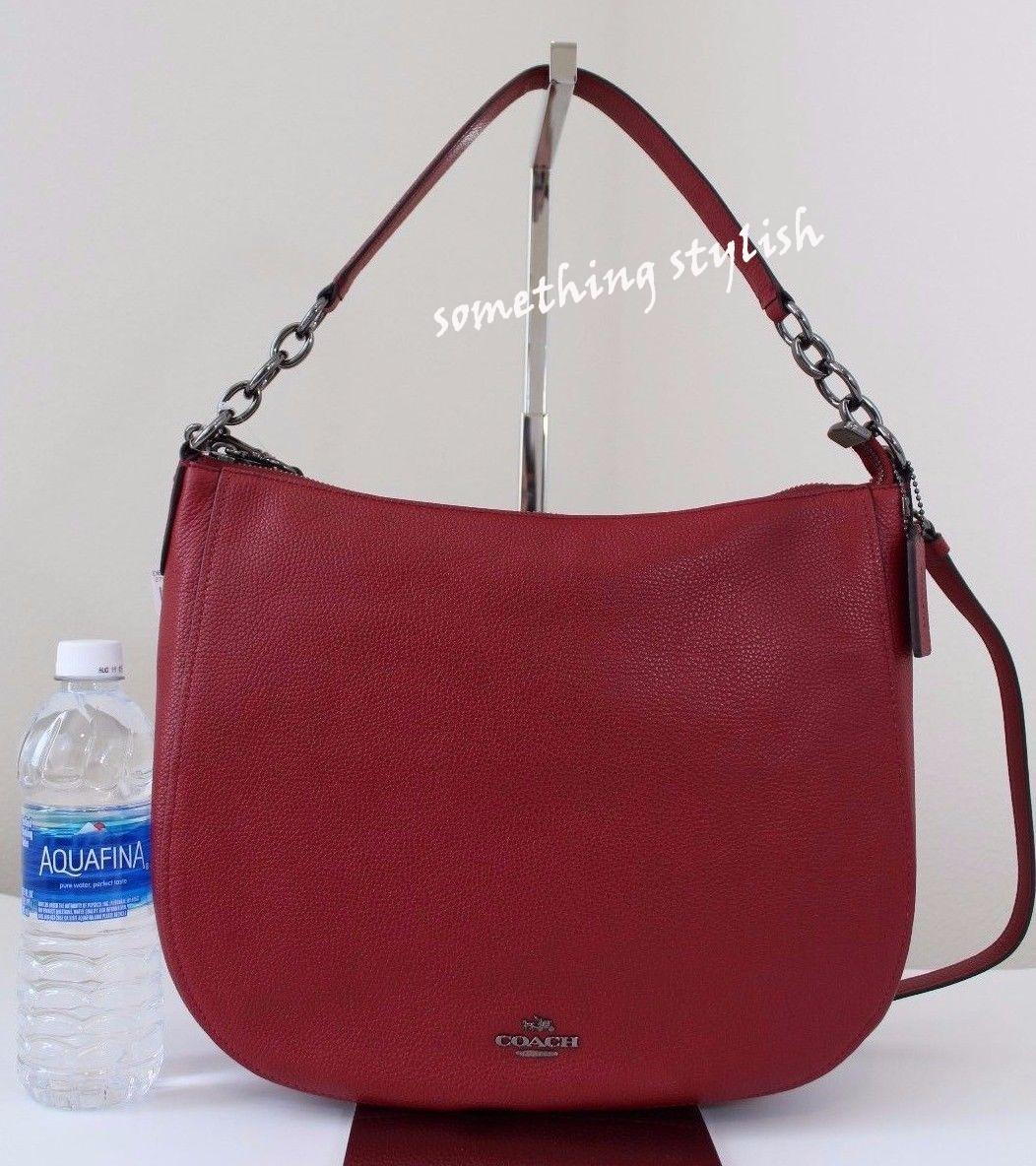 80579f8f144a8 where can i buy lyst coach chelsea hobo 32 in polished pebble leather in  black 4efd6 80b07  italy coach hobo bag. 123456789101112 1dace 99674