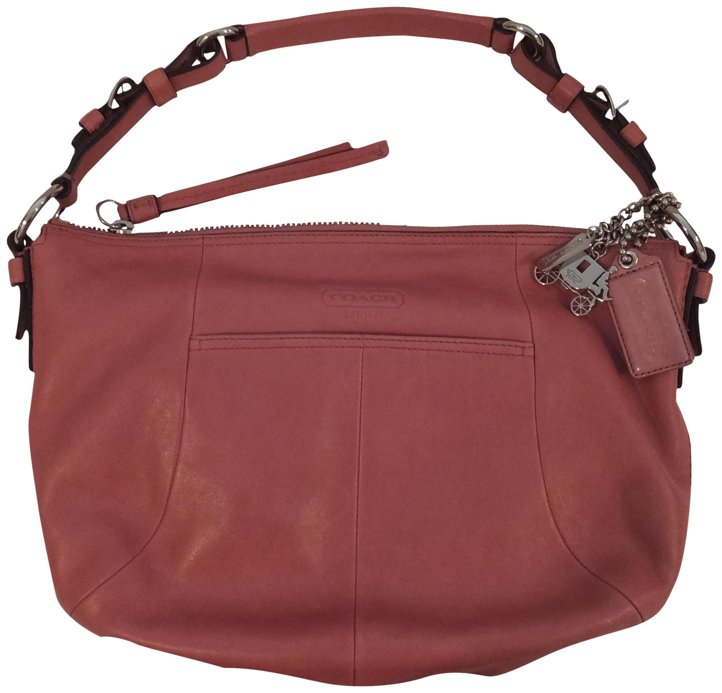 16c66d01ce ... czech coach classic dusty pink leather hobo bag tradesy 2acdc b8083