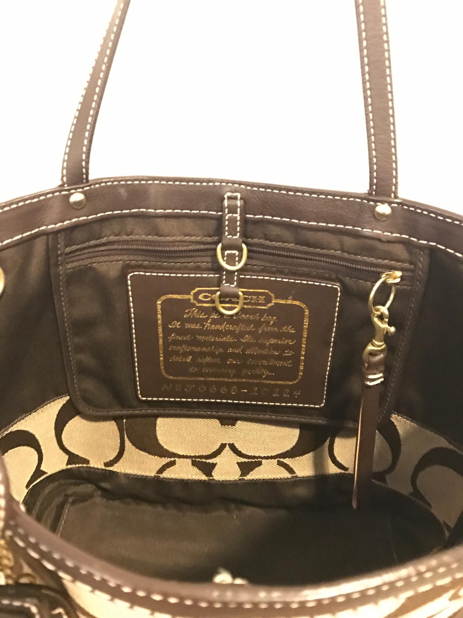 coach classic tote bag kit rh familycivilrights org