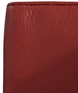 Coach COACH F93480 Leather Passport Case/Billfold