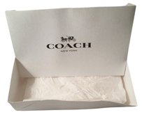 Coach Coach wallet box with tissue paper . box only no wallet