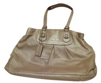 Coach Goldtone Hardware Shoulder Bag