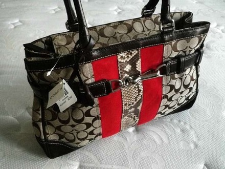 Coach Dooney Bourke Louis Vuitton Channel Rare Vintage Satchel in Multi-Color