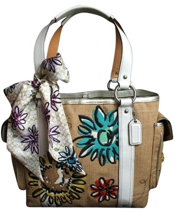 Coach Hermes Channel Gucci Dooney Bourke Louis Vuitton Rare Tote in Blue, Silver, White, Yellow, Red etc MULTICOLOR