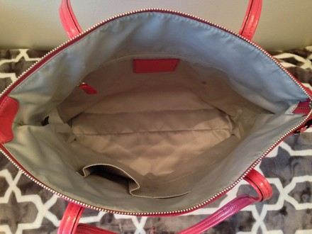 Coach Leather Vintage Pink Tote in Pink Leather