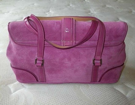 Coach Louis Vuitton Channel Tote in Pink