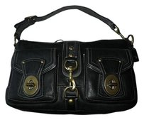 Coach Louis Vuitton Dooney Bourke Satchel in Black