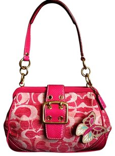Coach Louis Vuitton Dooney Bourke Satchel in Pink