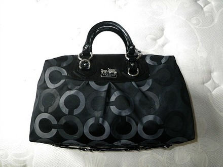 Coach Louis Vuitton Dooney Gucci Channel Rare Vintage Tote in Multi-Color