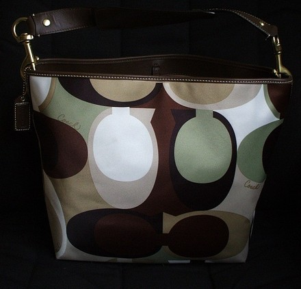Coach Dooney Bourke Hermes Louis Vuitton Gucci Vintage Tote in Multi-Color