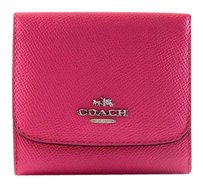 Coach New! Small Wallet in Grossgrain Leather