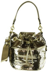 Coach Poppy Sequin Bucket 17906 Shoulder Bag