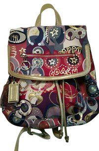 Coach Rare Limited Edition Euc Backpack