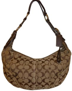 Coach Refurbished Monogram Hobo Bag