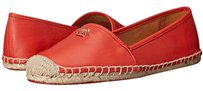 Coach Rhondelle Espadrille Loafer Leather Watermelon Flats
