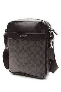 Coach Charcoal Satchel in Charcoal, black