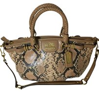 Coach C1293-19633 Satchel in Tan/brown