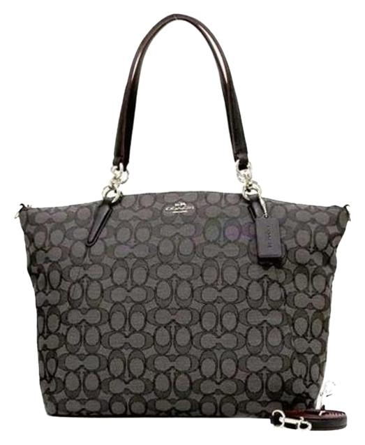 coach bag black and gray v54h  coach bag black and gray