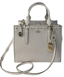 Coach 37400 Floral Rivets Shoulder Bag