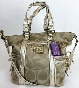 Coach 13843 Poppy Signature Shoulder Bag
