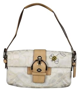 Coach Womens Monogram Shoulder Bag