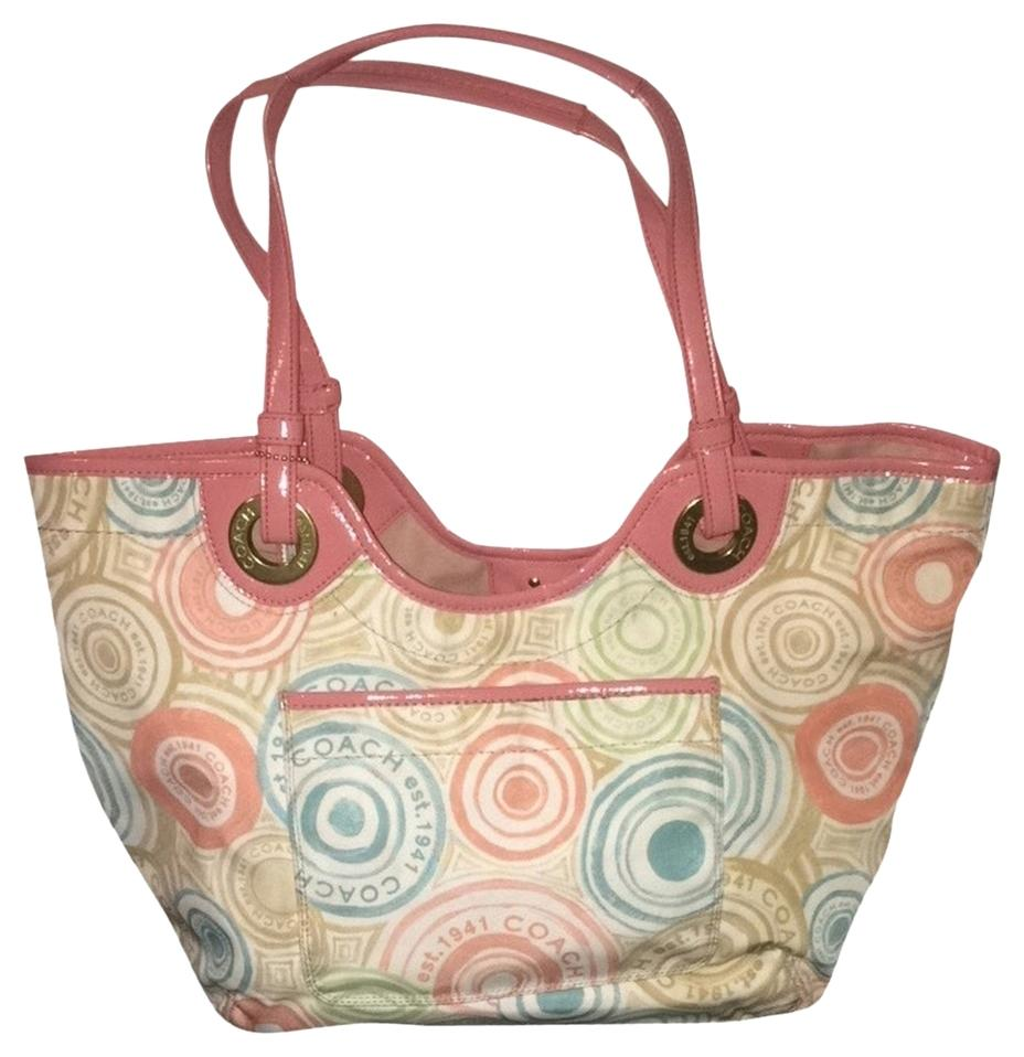 Coach Signature Limited Edition Multi Tote Bag on Sale, 62% Off ...
