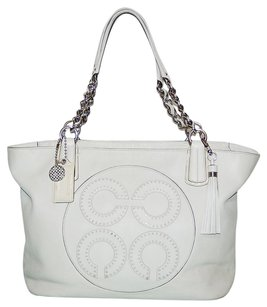 Coach Travel Carry On Shopper Shoulder Bag