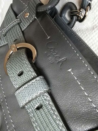 Coach Vintage Channel Gucci Tote in Gray
