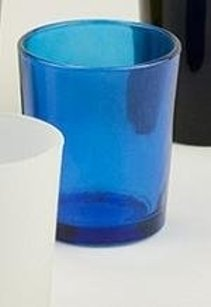Cobalt Blue Glass Votive Holders Candle Holder Nav