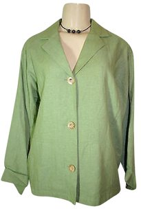 Coldwater Creek Womens Green Jacket