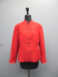 Coldwater Creek Long Red Jacket
