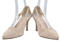 Cole Haan Womens Light Pointed Toe 8b Suede Stiletto Heels Pink Pumps