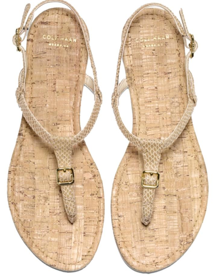 db9831bcfe1 Cole Cole Cole Haan Gold Sandals Size US 9 Regular (M