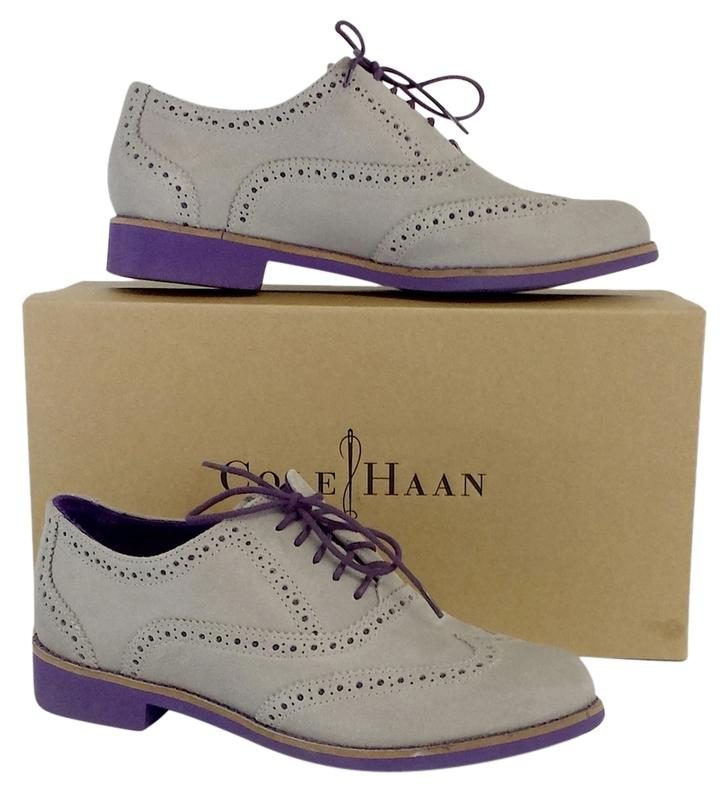 cole haan grey suede alisa oxfords boots boots