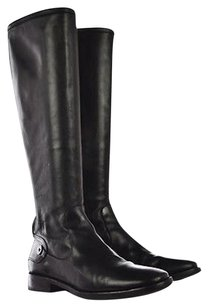 Cole Haan Womens Knee Black Boots