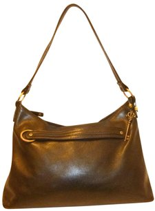 Cole Haan Refurbished Leather Hobo Lined Shoulder Bag
