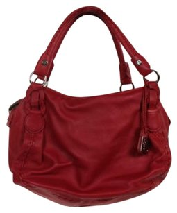 Cole Haan Womens Satchel in Red